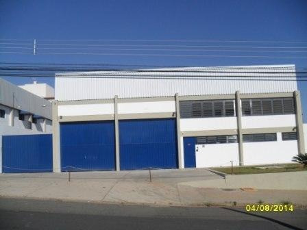 Barracão Para Alugar, 1345 M² Por R$ 22.000,00/mês - Jardim Santa Genebra - Campinas/sp - Ba0703
