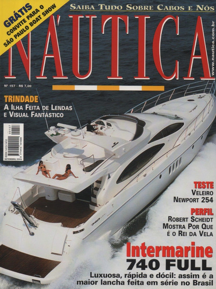 Náutica Nº157 Veleiro Newport 254 Intermarine 740 Full