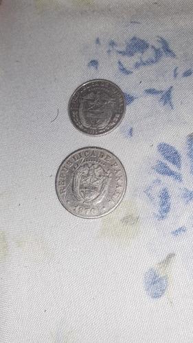 5 Centavos De 1970 Y 10 Centavos De 1953 En Buen Estado