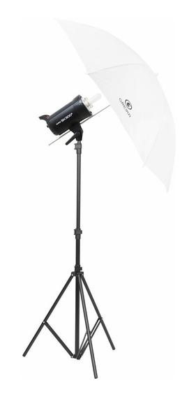 Kit Flash Estúdio Godox Sk300 Ii Rádio Embutido - 110v