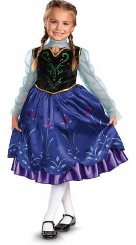Frozen - Disfraz Anna Viaje Tienda Oficial Disney 57005m