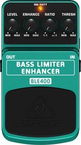 Pedal P/ Baixo Ble400 Limiter Enhancer - Behringer + Nf