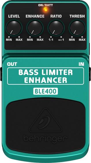 Pedal P/ Baixo Ble400 Limiter Enhancer - Behringer - Com Nota Fiscal E Garantia De 2 Anos Proshows !