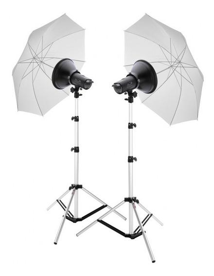 Kit Studio Fotografico/kit Tochas /flash Studio/flash 200w
