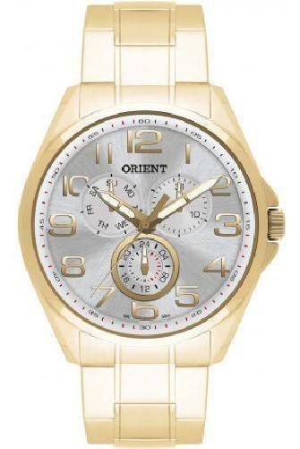 Relógio Orient Analógico Mgssm007 Dourado