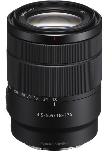 Lente Sony E 18-135mm F/3.5-5.6 Oss - Sel18135 Lj. Platinum