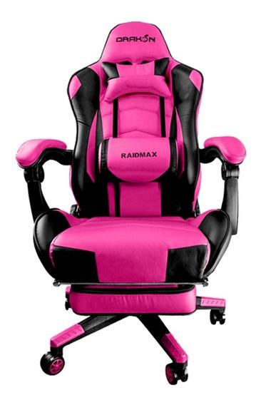 Cadeira Gamer Raidmax Drakon Rosa/preto Dk-709pk