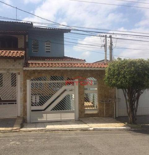 Imagem 1 de 21 de Sobrado Com 3 Dormitórios À Venda, 314 M² Por R$ 650.000,00 - Parque Boturussu - São Paulo/sp - So2449