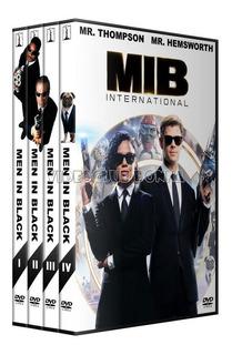 Hombres De Negro Men In Black Saga Completa Dvd Latino Pack