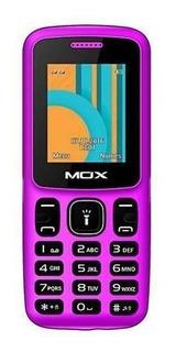 Celular Mox M340 Dual Sim 32mb Tela 1.77 Vga Pink