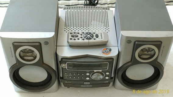 Micro System Gradiente Radio Cd Completo Ms-m400 Antigo