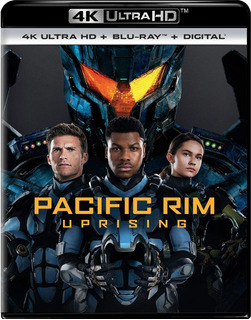 4k Ultra Hd + Blu-ray Pacific Rim Uprising / Titanes 2