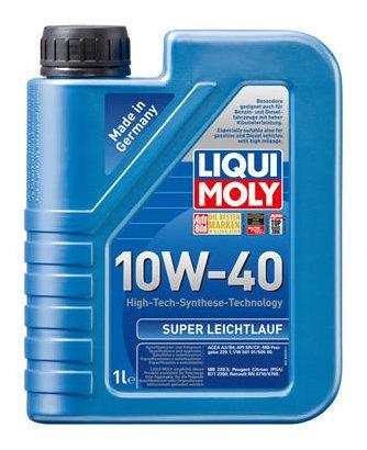 Aceite De Motor Liqui Moly 1 Litro 10w40 Sintetico Super Lei