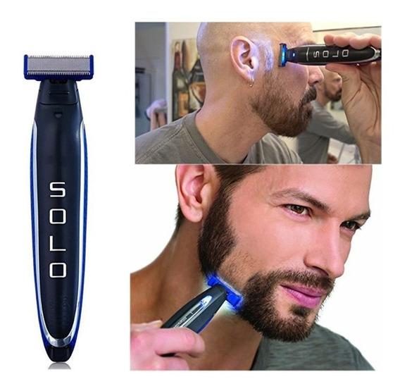 Micro Tocar Solo Barbeador Elétrico Recarregável Barbeador