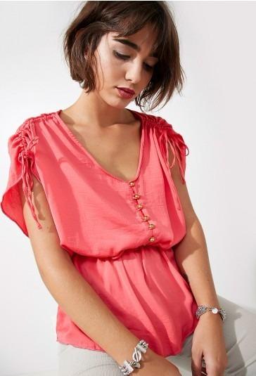 Camisa Camisola Elegante Verano Valdivia