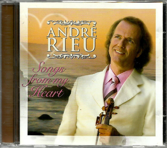 Cd André Rieu Songs From Heart 2005 Monarcha, Erens