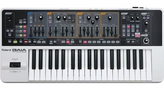 Teclado Sintetizador Roland Gaia Sh-01 Com 64 Notas + Fonte