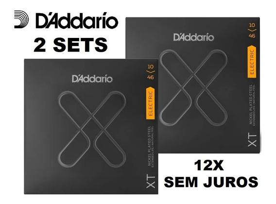 Kit 2 Encordoamento Daddario Guitarra Xt 010