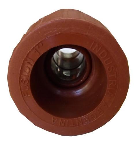 Imagen 1 de 8 de Cupla Reducción Fusión 3/4 A 1 Pulgada H3 Termofusión Metal