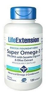 Super Omega 3 Life Extension Sesame Lignans & Olive Extract