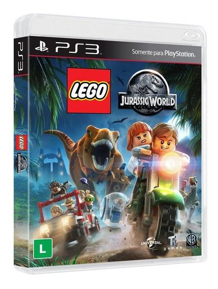 Jogo Novo Midia Fisica Lego Jurassic World Original Para Ps3