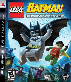 Jogo Lego Batman The Videogame Playstation 3 Ps3 Mídia Físic