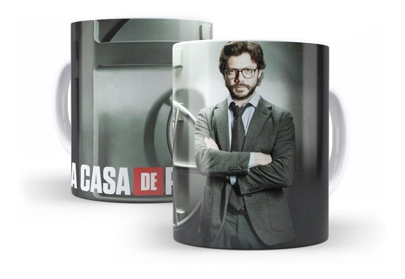 Caneca La Casa De Papel - El Profesor - Seriados Netflix #3