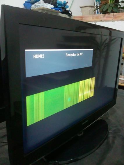 Tv Samsung Com Defeito Na Tela, Leia A Descrição.não Envio