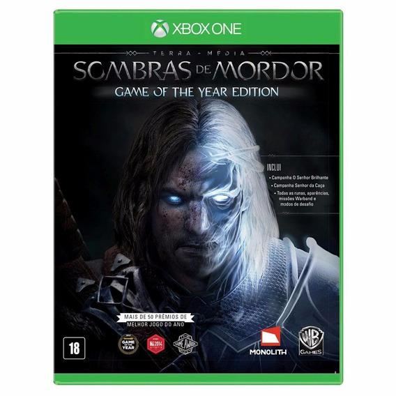 Jogo Sombras De Mordor Para Xbox One