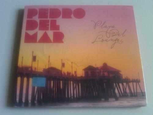 Pedro Del Mar Playa Del Lounge 4 Cd Nacional