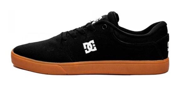 Tênis Masculino Dc Shoes Crisis La Preto/caramelo Original