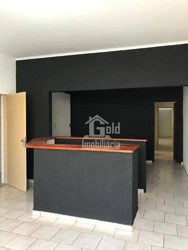 Sala, 101 M² - Venda Por R$ 250.000 Ou Aluguel Por R$ 1.300/mês - Jardim Palma Travassos - Ribeirão Preto/sp - Sa0319