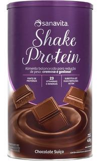 Shake Sanavita - Substituto De Refeição Chocolate Suiço 450g