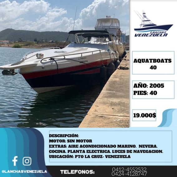 Lancha Aquatboats 40 Lv430