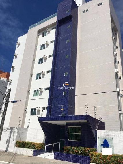 Apartamento Com 2 Dormitórios À Venda, 70 M² Por R$ 290.000 - Bessa - João Pessoa/pb - Ap2474