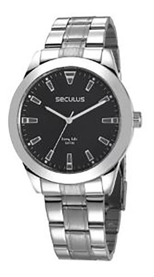 Relógio Seculus Long Life Masculino 28980g0svna1