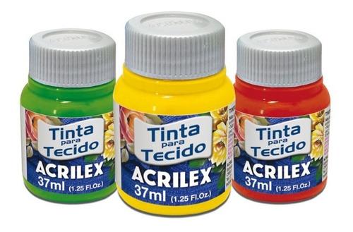 Imagen 1 de 5 de Pintura Para Tela  - Pintura Textil  Acrilex  | 37 Ml | Mate