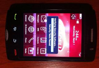 Blackberry Storm 9550 Básico Llamadas Mensajes Liberado