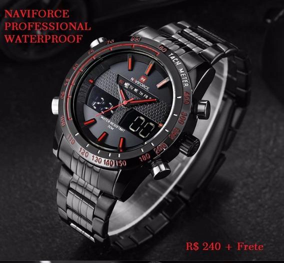 Relógio Naviforce Aço Inóx