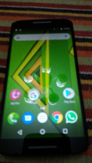 Smartphone Moto X Play 16gb Semi Novo, Detalhe No Display