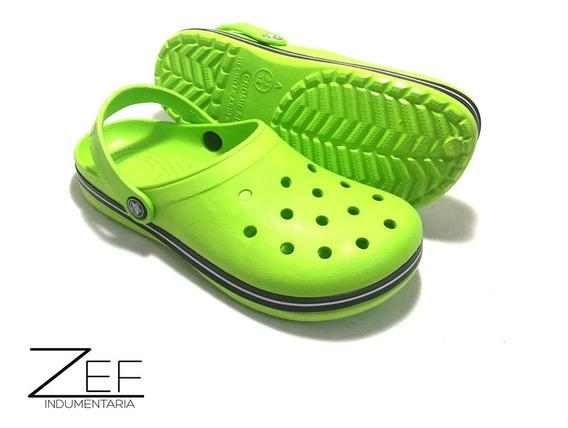 Sandalias Crocband Crocs Para Niños Niñas Goma C Pulsera