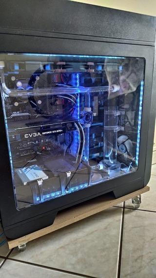 Pc Gamer I5 6600k Gtx 1070ti 16gb 240gb Ssd Watercooler Cust
