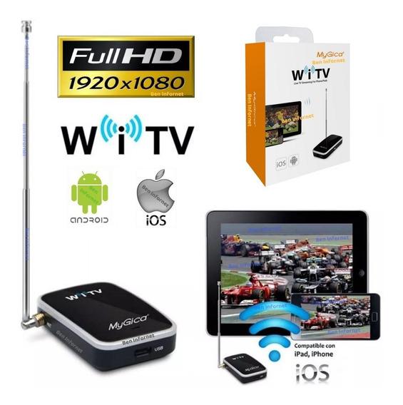 Conversor Tv Digital Gravador Full Hd 1920p Celular Tablet