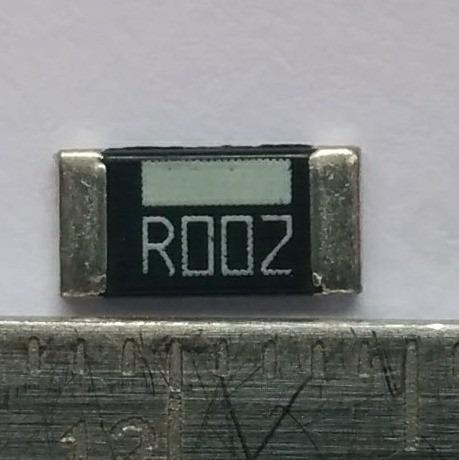20pc Resistor 0.002 Ohm 1% 1w Smd 2512 R002 0r002 2moh Shunt