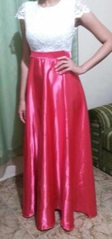 Vestido De Festa Nude/rosa