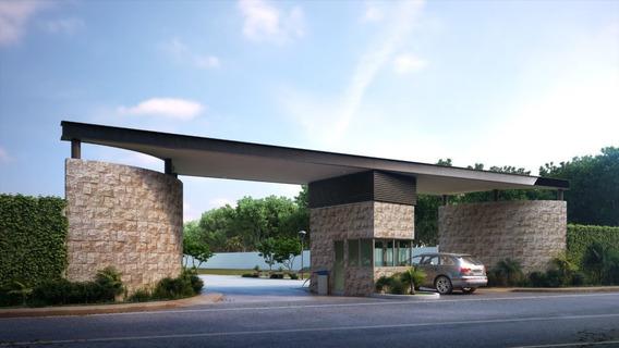 Terreno Residencial En Desarrollo Premium En Temozon Norte