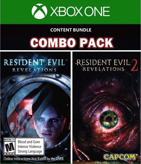 Resident Evil Revelations 1 E 2 - Xbox One - Mídia Digital