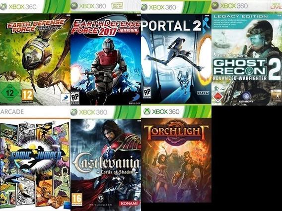 9 Jogos De Xbox 360 Mídia Digital