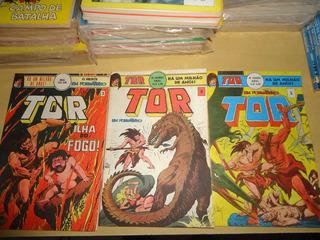 Tor - Joe Kubert - Dc Comics - Nº 03 - Formatinho - Ebal