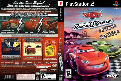 Carros Cars Race O Rama Ps2 Patch Infantil .